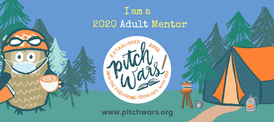 I am a 2020 Adult Mentor for Pitch Wars.